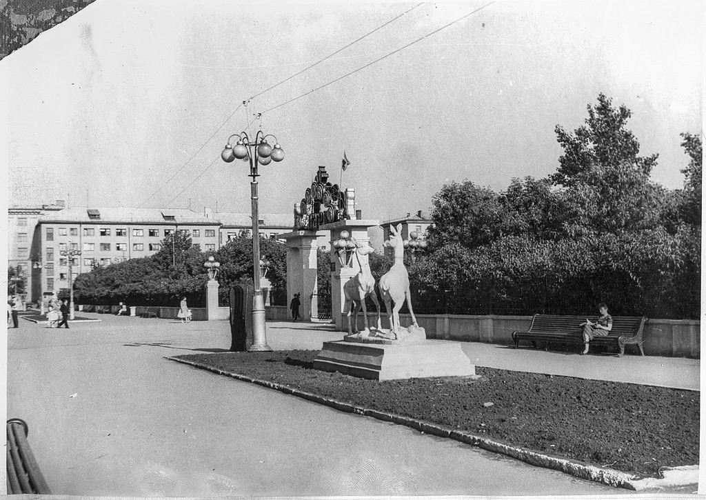 ZAVODFOTO / History of Russian cities in photos: Album & quot; Chelyabinsk city tour & quot ;, 1961