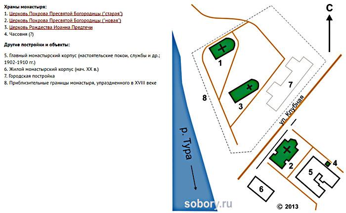 план_монастыря_plan_monastyrya