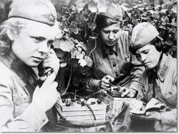 День связи. Связисты Великой Отечественной войны