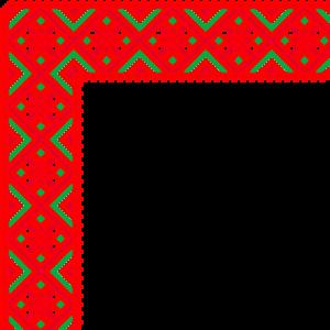 red corners