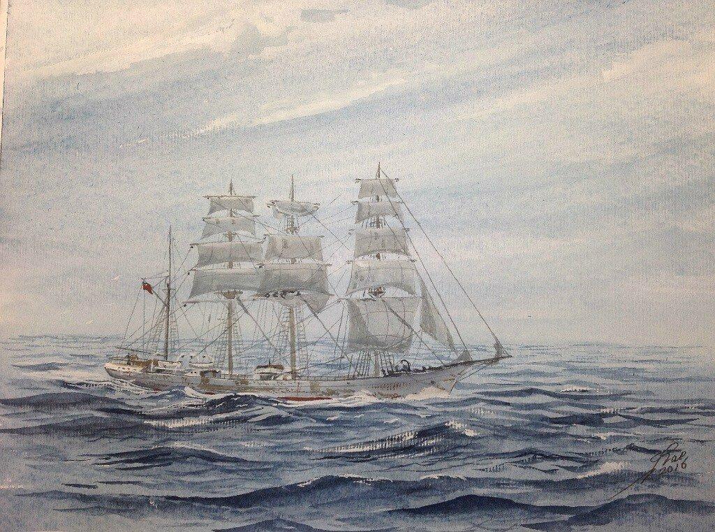 Barque Beatrice.