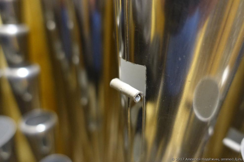 15. Самые большие трубы издают инфразвук от 8 Гц, самые маленькие — ультразвук.