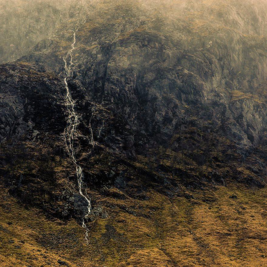 Снежная буря у полуострова Llyn, Северный Уэльс, 2013 год. Фотограф: Michael Swallow.