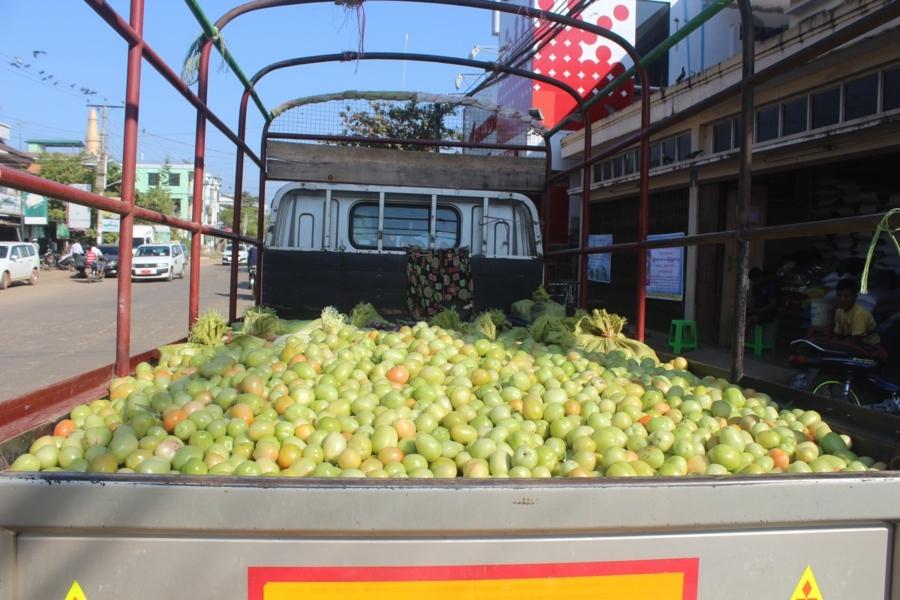 Отлично освежающий фрукт из Мьянмы. Как маленькое сочное сладкое яблоко с одной сливовой косточкой.