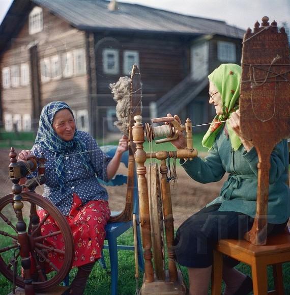 Деревня Кишма, 1950-е.