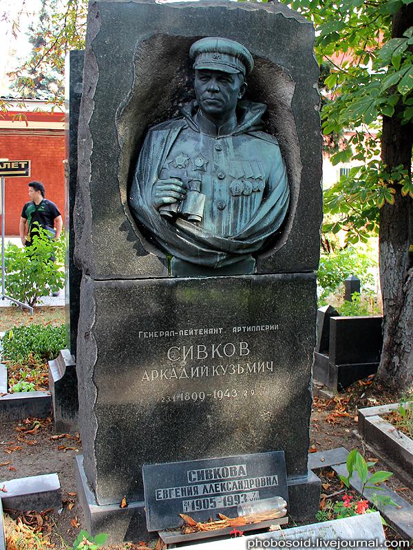 54. Сивков Аркадий Кузьмич — советский военачальник, генерал-лейтенант артиллерии.