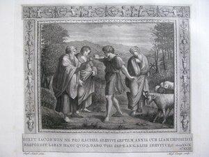 Иаков просит руки Рахили (Бытие XXIX, 18-20)