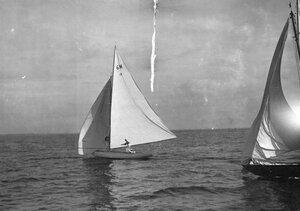 Яхты 6М и 6А на дистанции гонок по Финскому заливу
