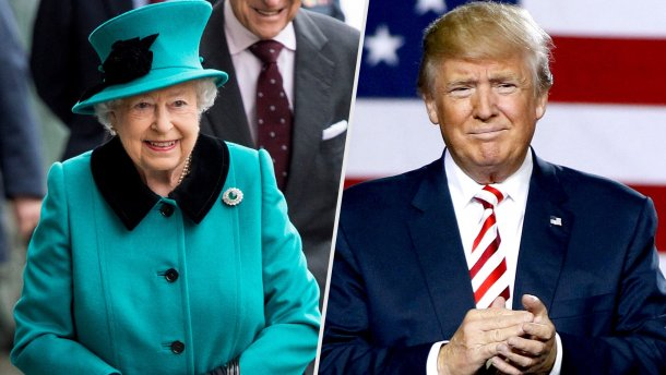 Петицию против визита Трампа в великобританию поддержали неменее 870 тыс. человек