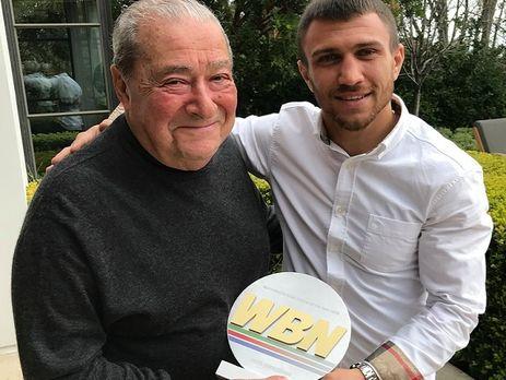 Украинец Ломаченко признан лучшим боксером мира поверсии World Boxing News