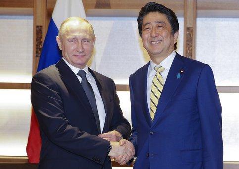 Абэ увидел впартнёрствеРФ иЯпонии «бесконечные возможности»