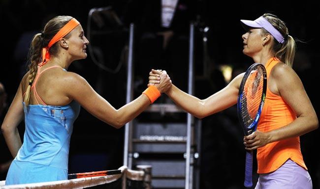 Шарапова уступила Младенович вполуфинале турнира WTA вШтутгарте