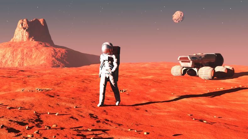 Ученые: в будущем году космонавты начнут растить наМарсе салат латук