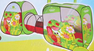 Детская палатка домик с тоннелем SG7015