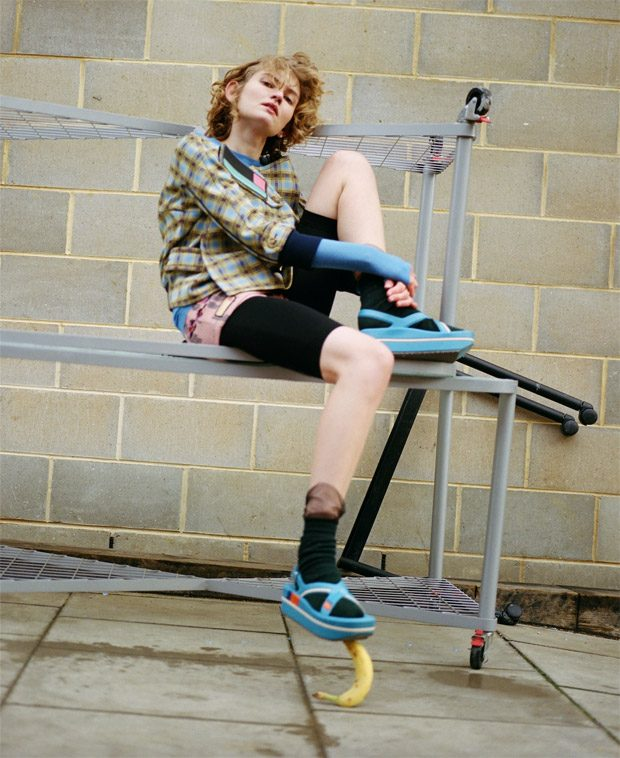 Lotte Van Noort Stars in ODDA Magazine Spring Summer 2017 Issue