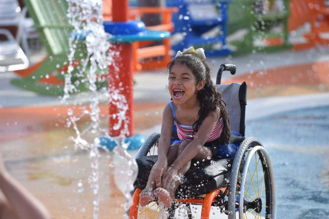 Finally, a water park suitable for children with disabilities (23 pics)