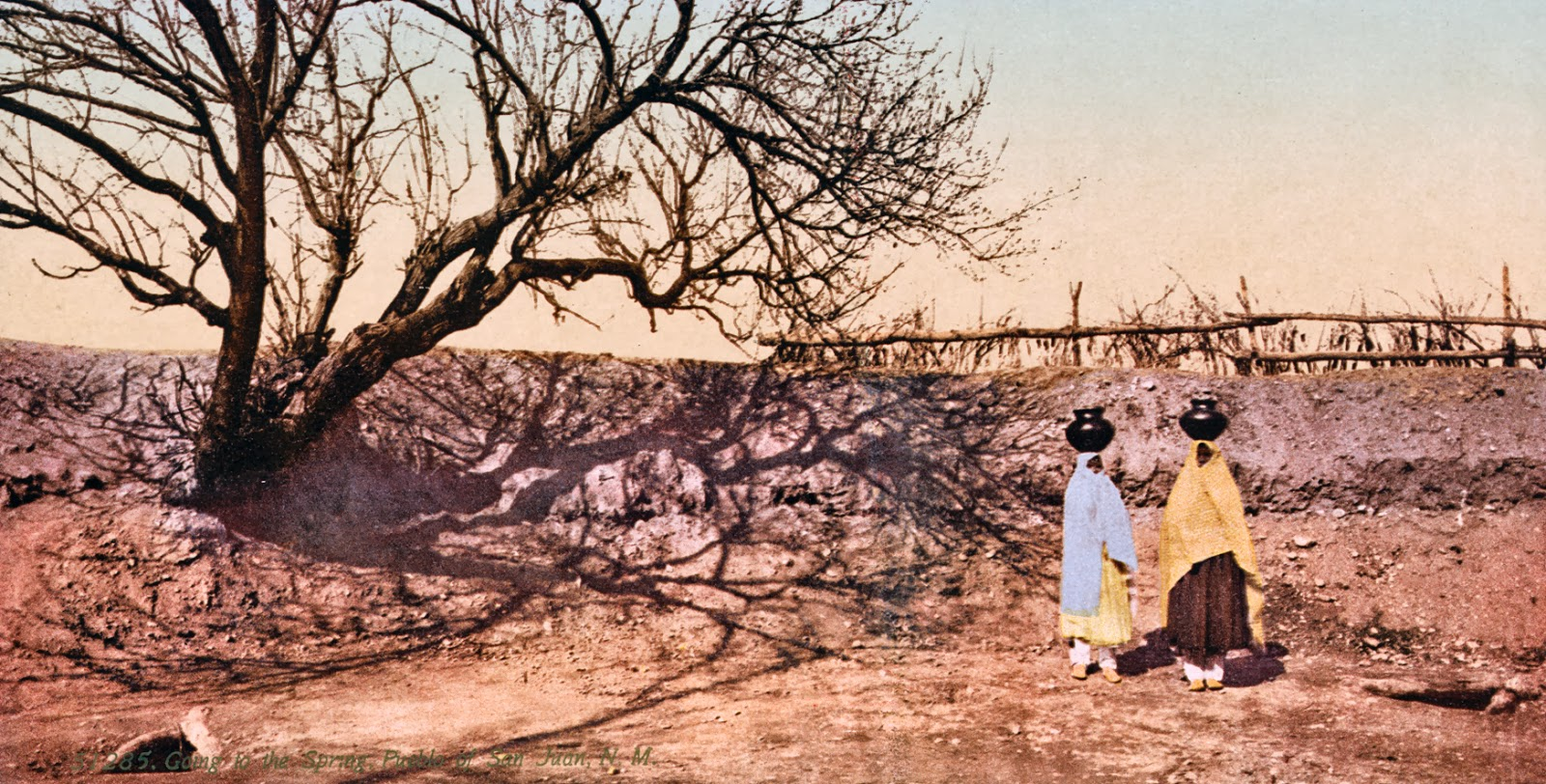 Going to the spring, Pueblo of San Juan, New Mexico, 1898-1905.jpg