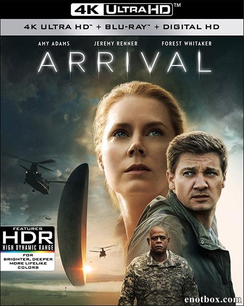 Прибытие / Arrival (2016/BDRip/HDRip) + UltraHD 4K