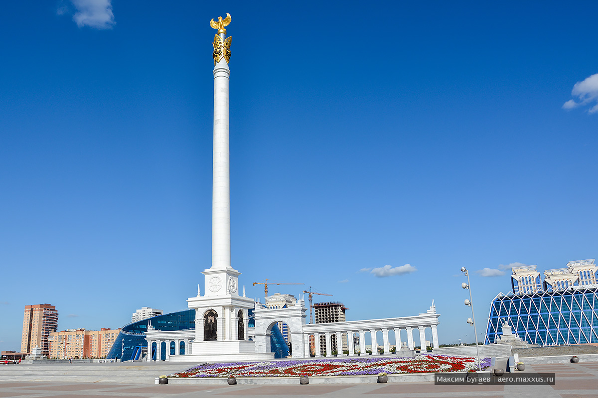 Астана. Фото Максима Бугаева