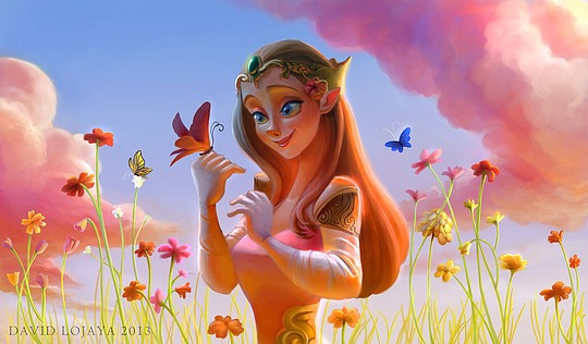 Beautiful Fantasy Illustrations by David Lojaya