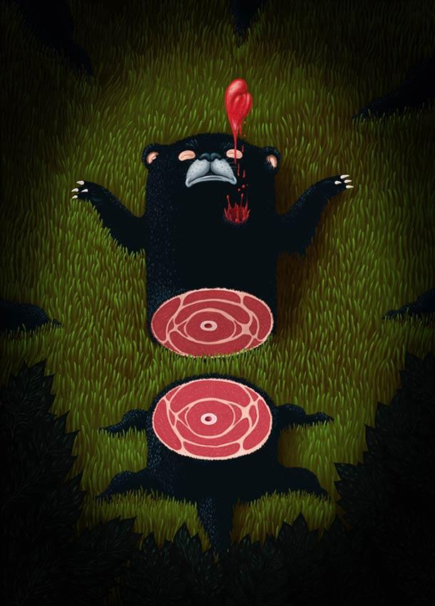 Psychotoons - 22 illustrations de Rafael Aguilar