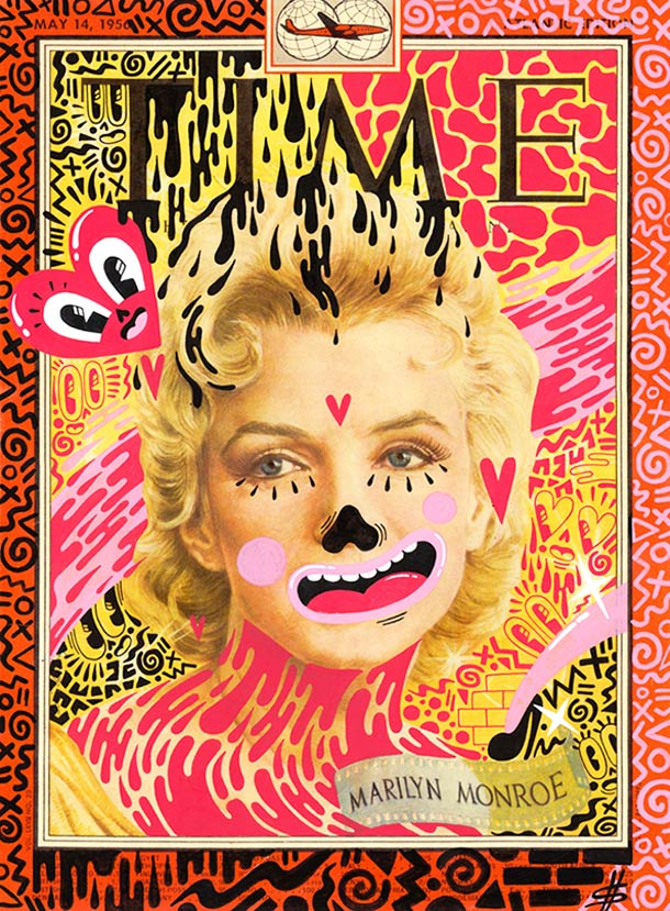 Magazine Covers - 23 detournements de Hattie Stewart