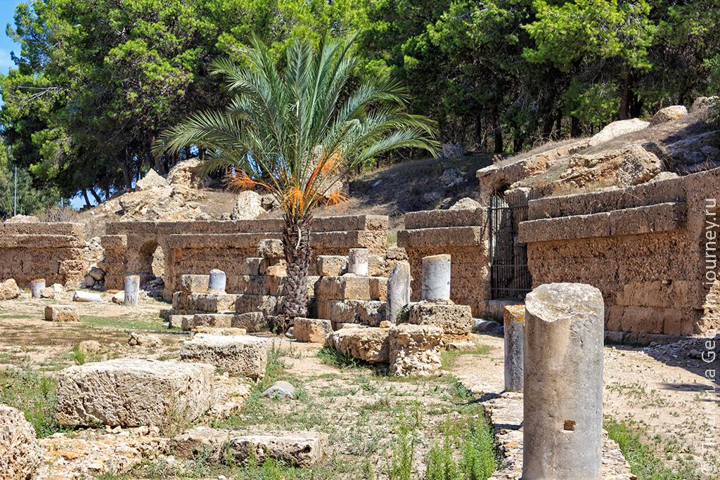 древний Карфаген фото