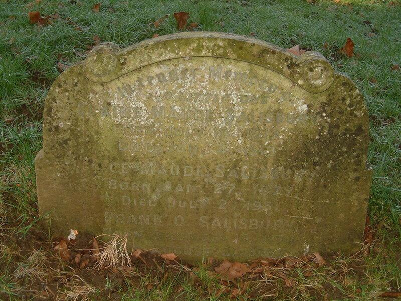 Francis Owen Salisbury Headstone, St Nicholas Churchyard, Harpenden.