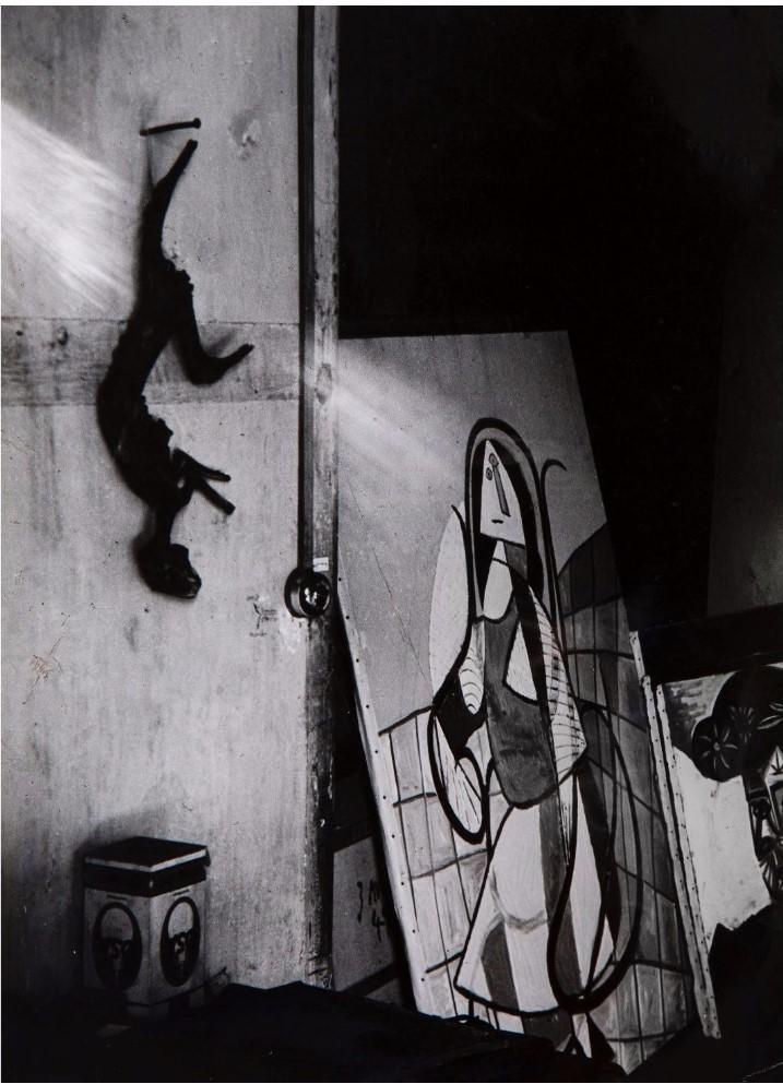 1944. Мастерская Пикассо. Фрагмент