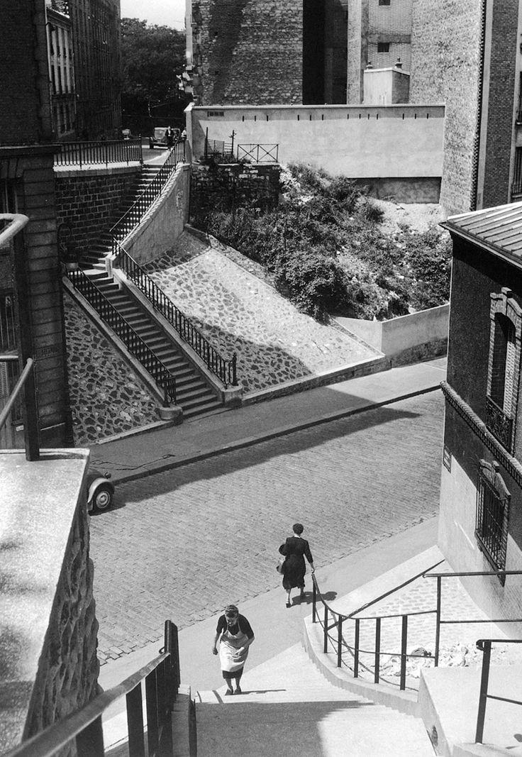 1948. Квартал Менильмонтан. Париж