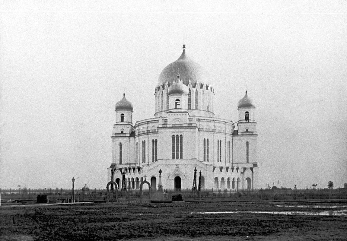 Александро-Невский собор, вид с северной стороныю 1880-е