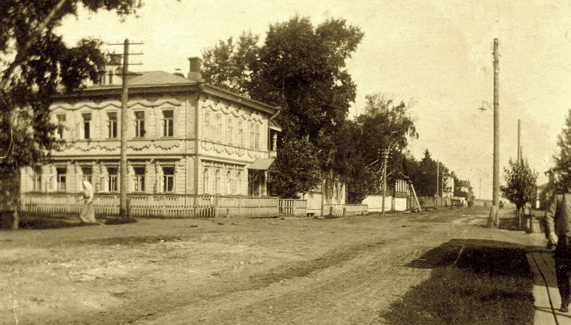 Царевская улица. Дом Глазыриных