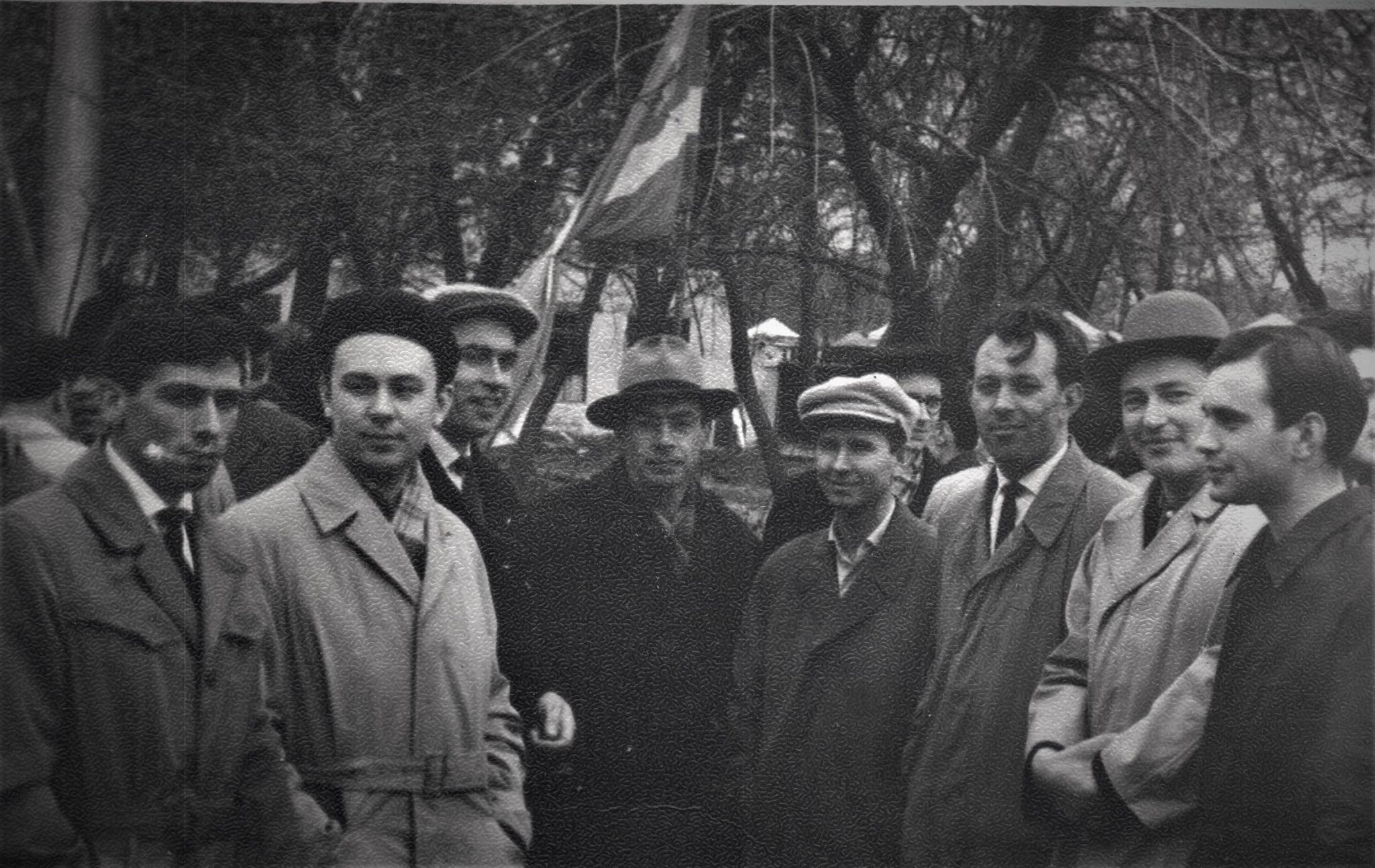 1965. Геофак на демонстрации