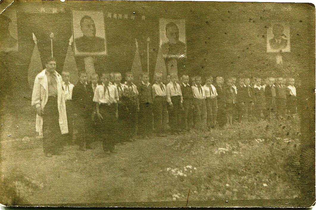 1950-е. Пионерлагерь МГБ