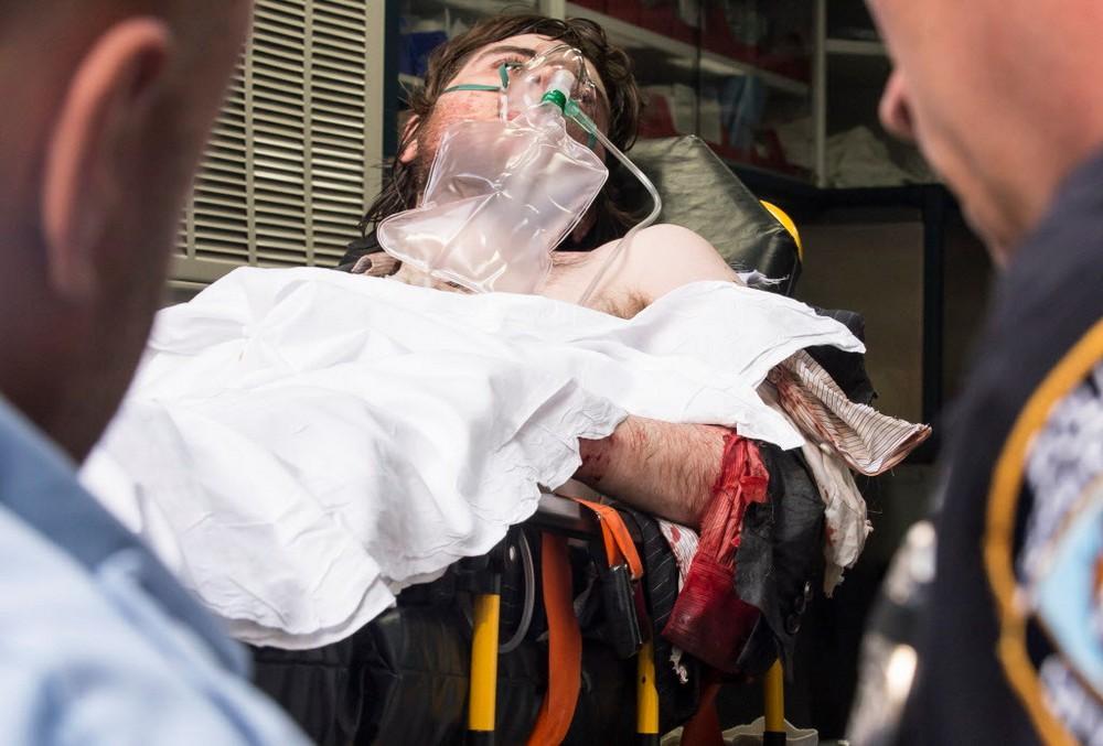 Наркоман принял друга за робота-убийцу и натравил на него питбуля