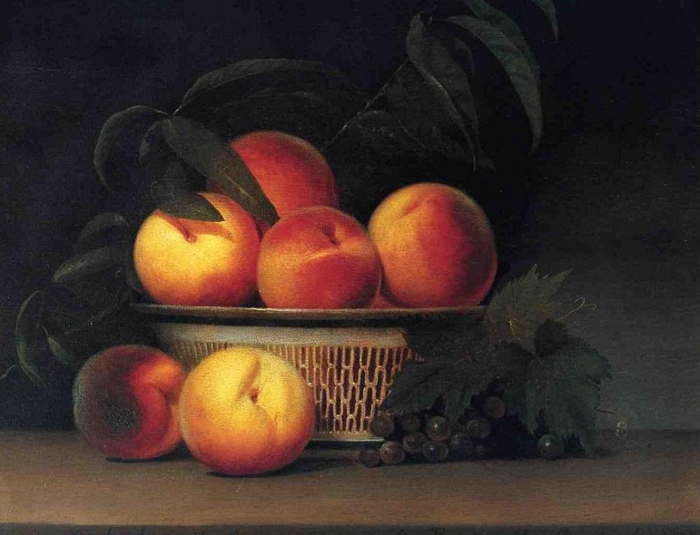 Рафаэль Пил. Персики и недозрелый виноград. 1815