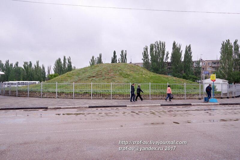 Мелек-Чесменский курган, Керчь