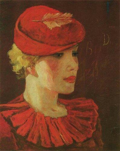 Дейнека Александр Александрович (1899-1969). Парижанка  1935