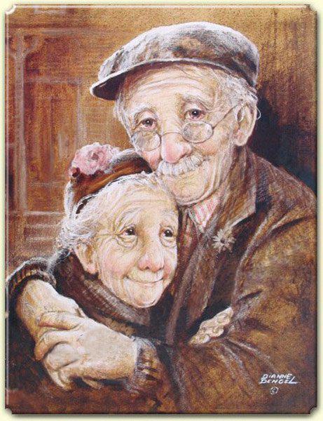 Открытка. С Днем пожилого человека! Радости на долгие годы вам открытки фото рисунки картинки поздравления