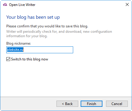 Не подключается Word и Windows (Open) Live Writer к блогу WordPress (решено)