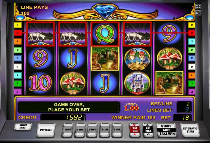 игры на Вулкан автоматах Unicorn Magic бесплатно