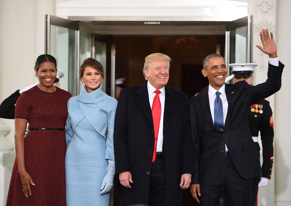 14. Иванка Трамп прибыла на инаугурацию отца, Вашингтон, 20 января 2017. (Фото Saul Loeb | Reut