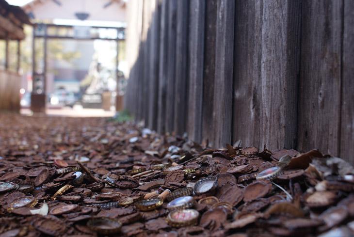 Пробочная аллея в Техасе (11 фото)