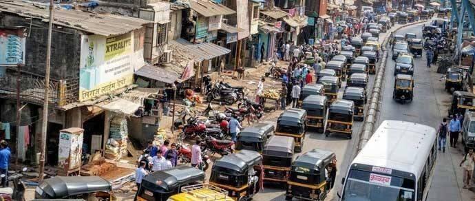 Индия: дорожный хаос, в котором прав тот, у кого громче сигнал клаксона (40 фото)