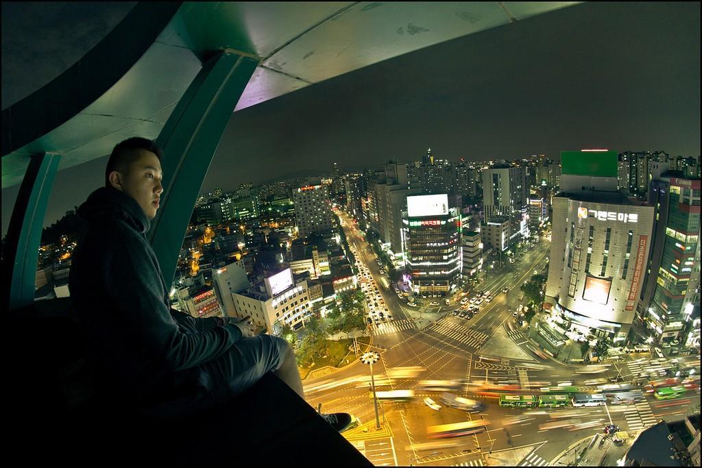 7. В столице Южной Кореи, Сеуле. Фото из цикла Seoul Searcing.