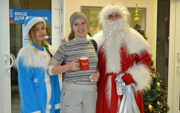 Доноров ожидают новогодние подарки отСлужбы крови