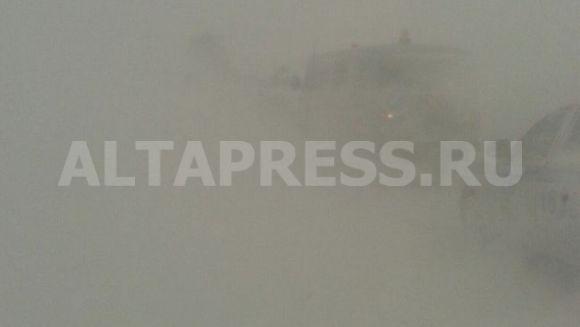 Из-за метели вАлтайском крае 12 населенных пунктов остались без электричества