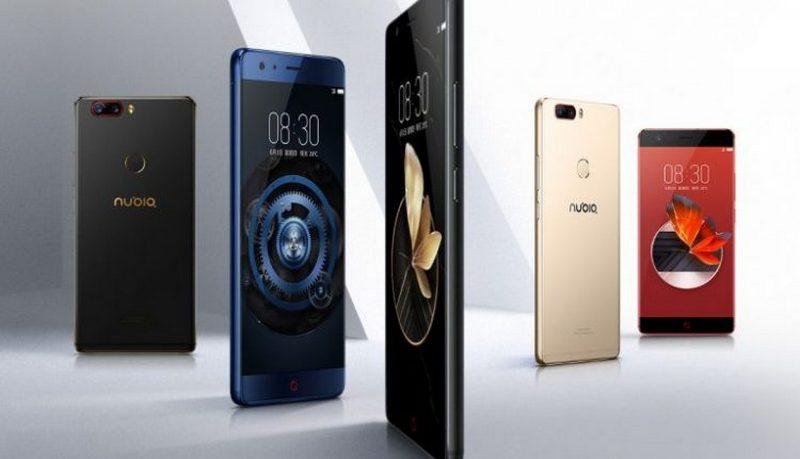 ZTE анонсировала безрамочный флагманский смартфон Nubia Z17