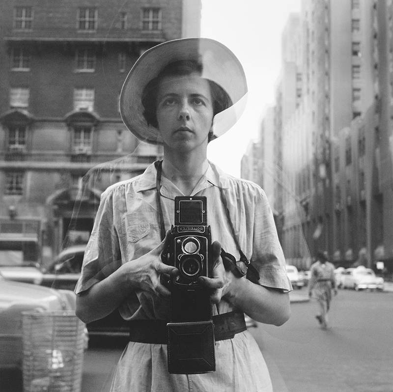 Self portrait by Vivian Maier courtesy powerHouse Books