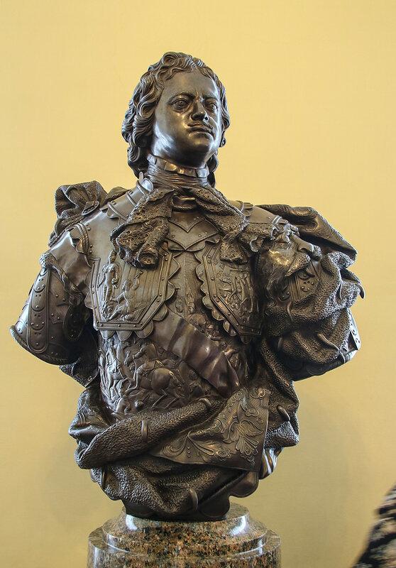 Торжественный бюст Петра I (1810г.)